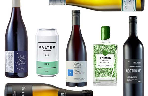 Gourmet Traveller's top drops for April include a powerful and complex Victorian gin with citrus notes and an essential cabernet franc from the Loire Valley.