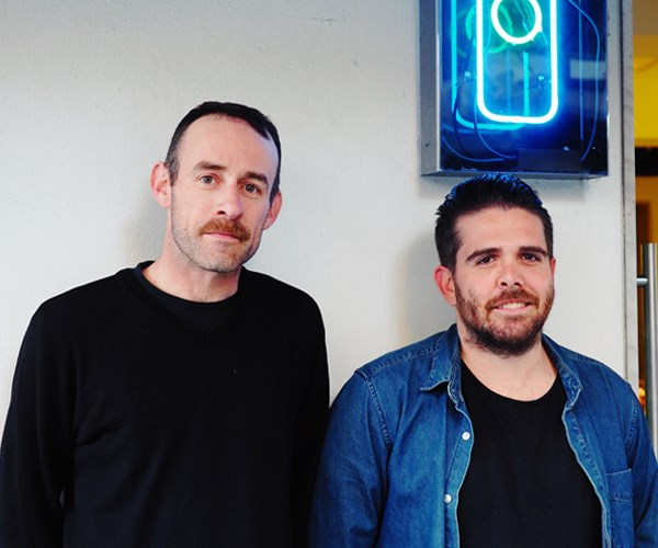 Marc Dempsey and Adam Wolfers, who will bring Ètelek to Canberra restaurant Eightysix for three nights this month