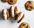 Choc-chip peanut butter cookies