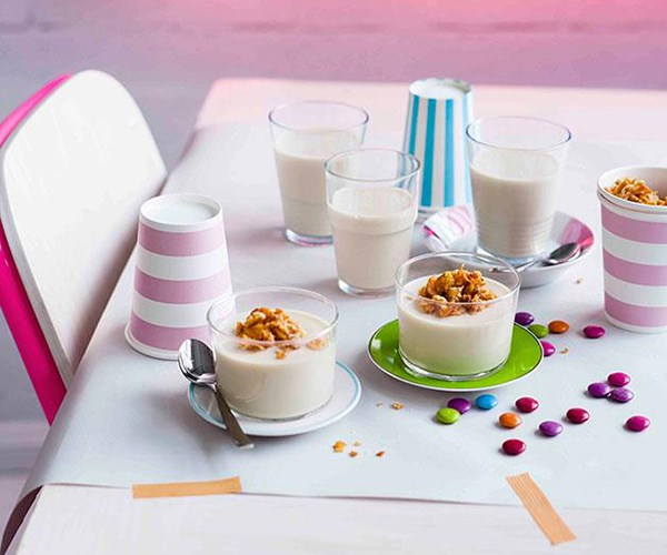 Cereal Milk panna cotta recipe by Christina Tosi of Momofuku Milk Bar