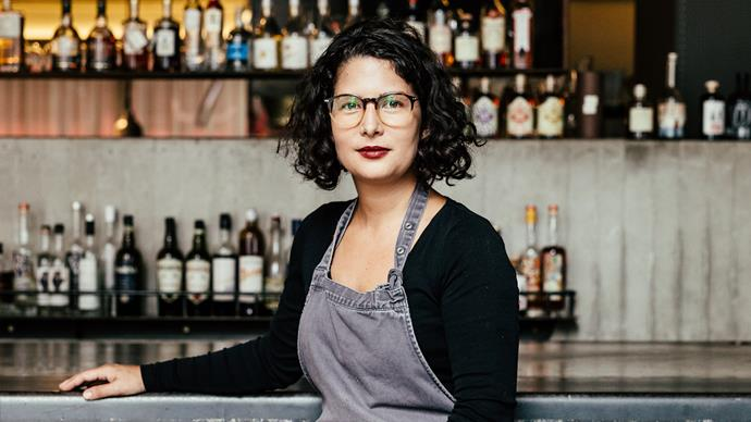 Analiese Gregory, head chef of Franklin restaurant in Hobart. Read the full review.
