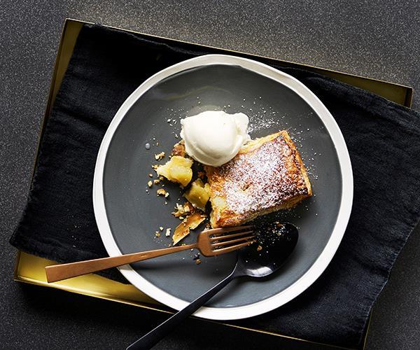 "**[Little apple pies](https://www.gourmettraveller.com.au/recipes/browse-all/little-apple-pies-12485|target=""_blank"")**"