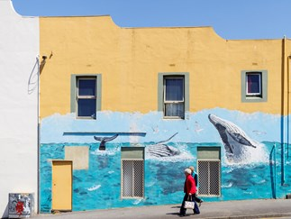 A mural in Albany, one of the major towns of Western Australia's Great Southern region.