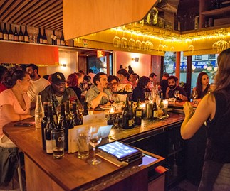 The Four Horsemen bar in Brooklyn, New York is part of a new food festival, MEL & NYC, brings the Big Apple to Melbourne this winter