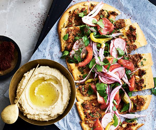 "[**Babajan's lamb lahmacun**](http://www.gourmettraveller.com.au/recipes/chefs-recipes/babajans-lamb-lahmacun-9309|target=""_blank"")"