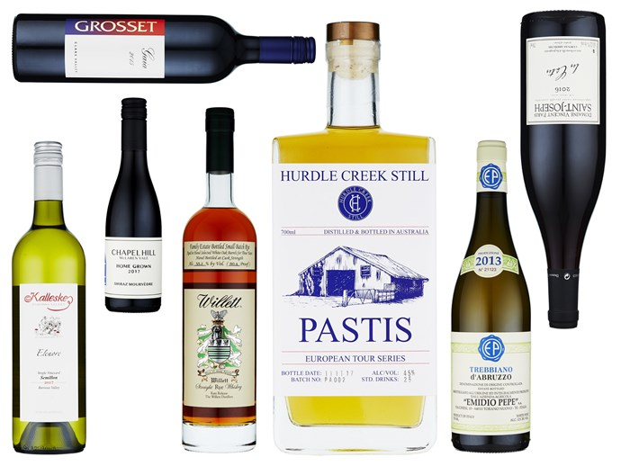 Gourmet Traveller's top drops for June include the excellent 2015 vintage of Grosset Gaia, King Valley pastis and a Barossa semillon.
