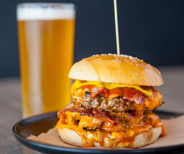 Bordertown's Harley James Special burger