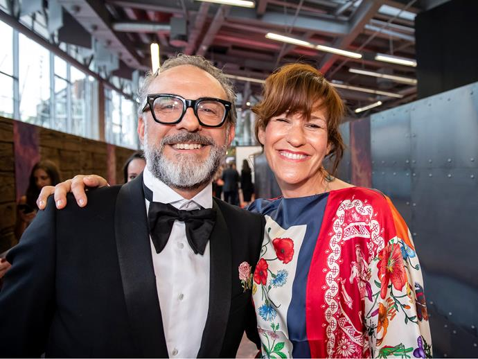 Massimo Bottura and Lara Gilmore of Osteria Francescana