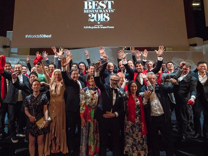 The World's 50 Best Restaurants 2018: the full list of winners