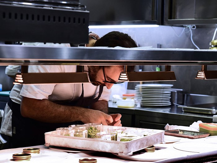 Inside the kitchen at Osteria Francescana, ranked number one on The World's 50 Best Restaurants