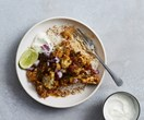 Cauliflower curry with lime and coriander