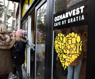 OzHarvest Café by Gratia in Surry Hills, Sydney
