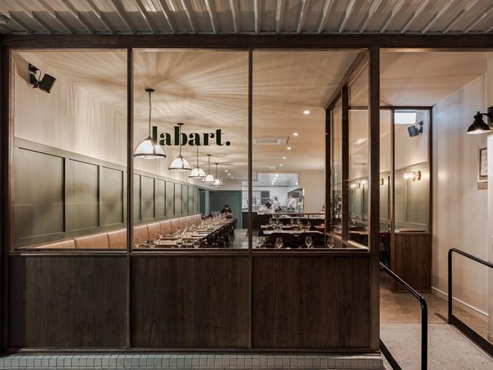 The façade of Restaurant Labart, now open in Burleigh Heads