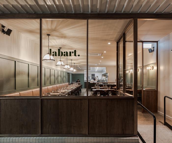 The façade of Restaurant Labart, Burleigh Heads