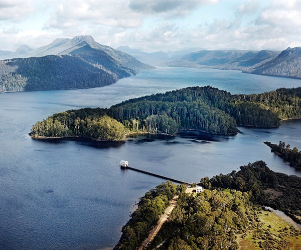 Tasmania's best hotels include Macq01 and Pumphouse Point