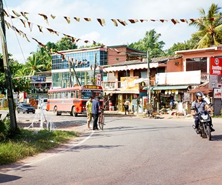 Street scene in Colombo