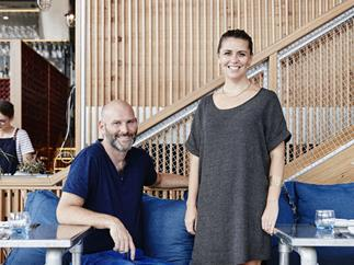Sotto Sopra co-owners Alessandro and Anna Pavoni