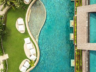The lagoon pool at Como Uma Canggu, Bali