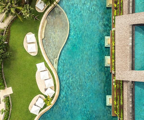 The lagoon pool at Como Uma Canggu, Bali