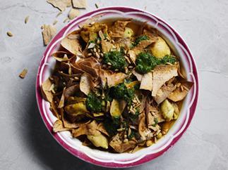 Chicken fatteh