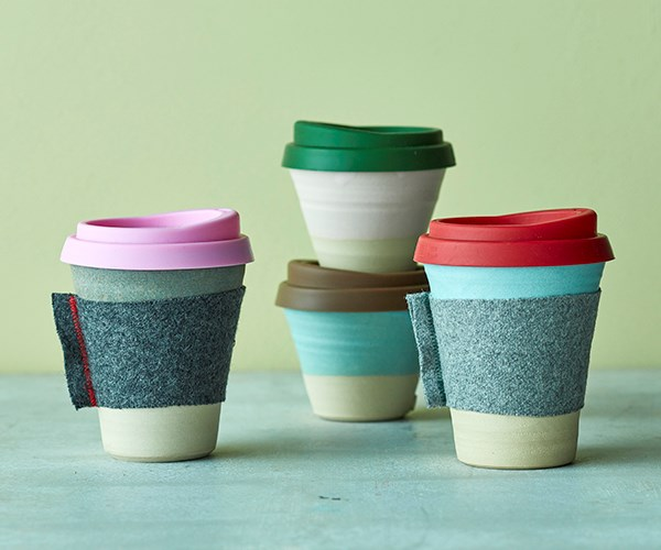 Meet your Maker: Claycups' reusable coffee cups