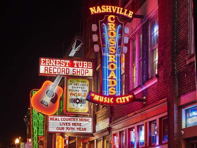 Nashville's Lower Broadway