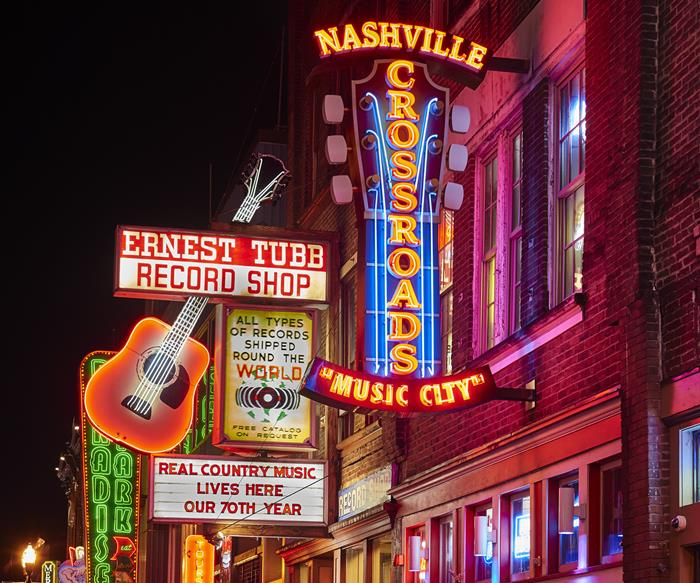 Nashville's Lower Broadway