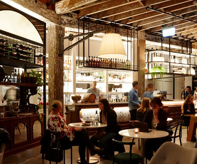 Inside Mister Percy, the new wine bar in Ovolo 1888 Darling Harbour