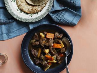 Intimate wagyu stew