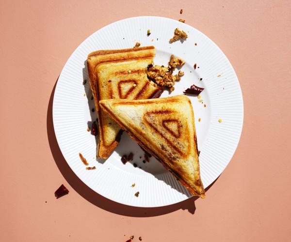 Ma po tofu jaffles