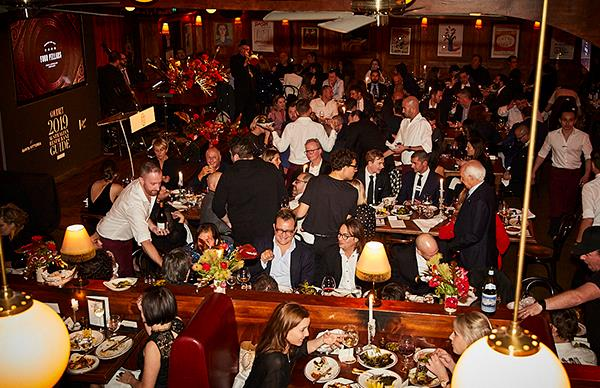 Who was at the Gourmet Traveller Restaurant Awards?