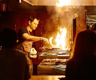 Lennox Hastie at the Firedoor