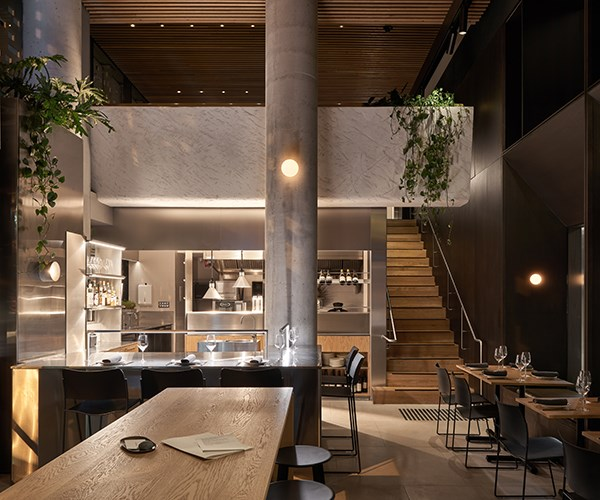 Interiors at Congress, one of Melbourne's hottest new restaurants