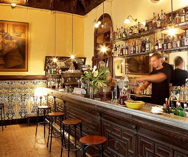 Viva Madrid, one of Hemingway's favourite hangouts in Madrid