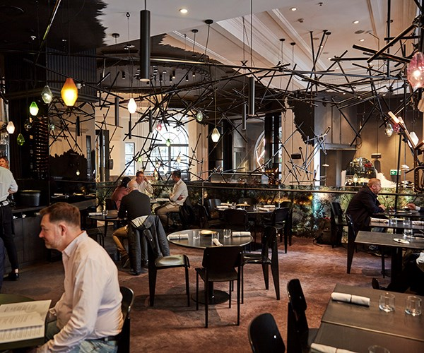 The mezzanine at Bentley, one of several new and rebooted restaurants in Sydney