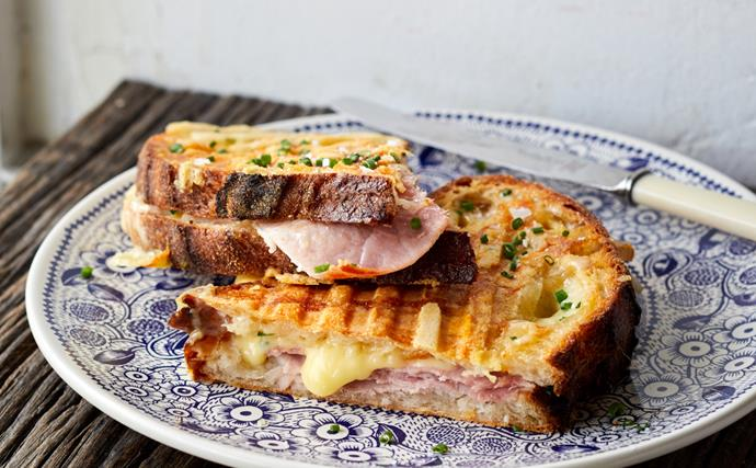 The toastie at Penny's Cheese Shop, a new artisan cheese store in Sydney