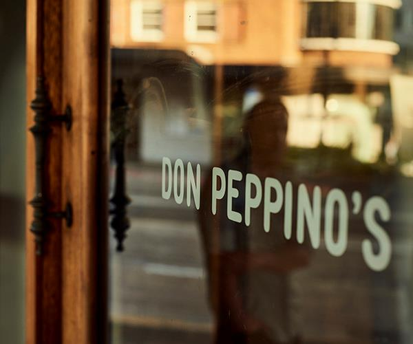 The front door to Don Peppino's