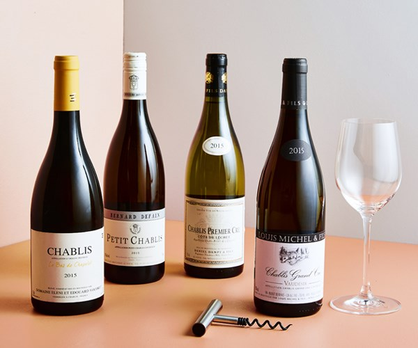 Chablis from some of France's top producers