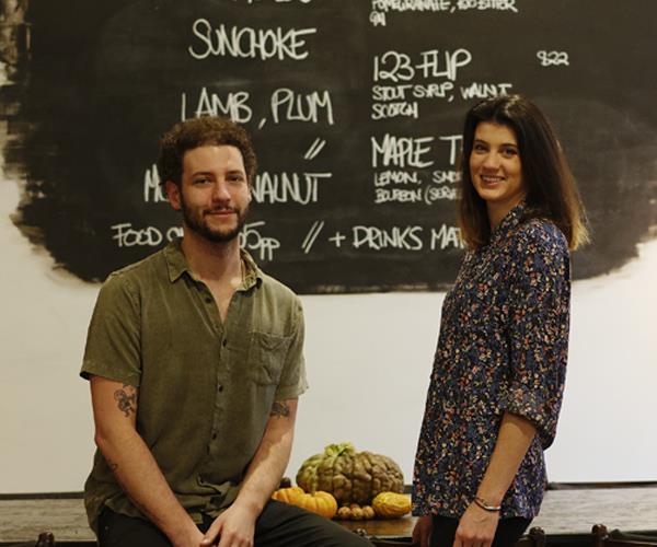 Kobi Ruzicka and Sarah Fitzsimmons at Dier Makr
