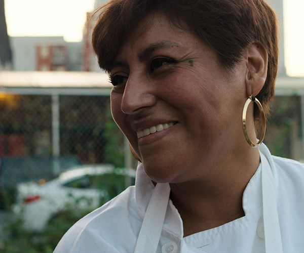 Cristina Martinez of South Philly Barbacoa, featured in season 5 of Chef's Table