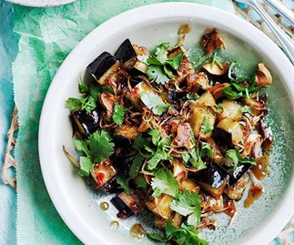 Stir-fried eggplant with sweet tamarind sauce and more eggplant recipes