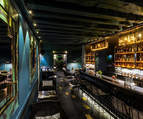 Inside cocktail bar Solera