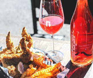 Belles Hot Chicken will open a rare natural wine every Sunday this month