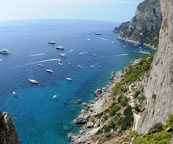 The island of Capri, off the coast of Naples (photography: Nicola Ianuale)