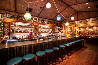 Inside Jacoby's, a tiki-themed bar on Gourmet Traveller's list of best Sydney bars