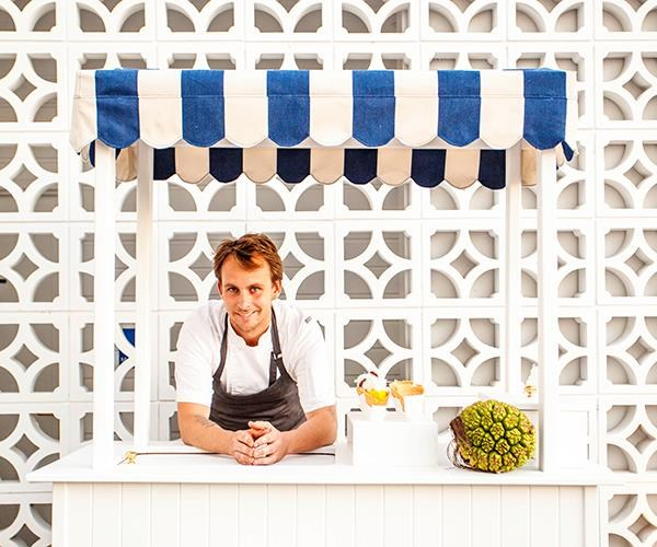 Ben Devlin at Paper Daisy, which he's leaving at the end of 2018 to open his own restaurant.