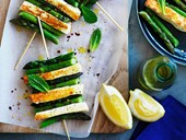 Vegetarian canapé recipes