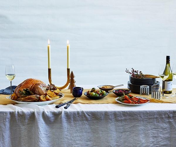 Christmas spread