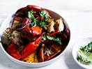 Mud crab with XO sauce