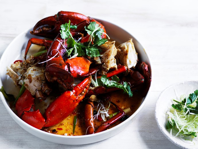 "**[Mud crab with XO sauce](https://www.gourmettraveller.com.au/recipes/chefs-recipes/mud-crab-with-xo-sauce-16619)** Dan Hong, executive chef at [The Establishment](https://www.gourmettraveller.com.au/travel/hotel-reviews/establishment-hotel-sydney-review-16103), loves nothing more than eating ""beautiful Aussie mud crab"" in the summer. Soon you will too."